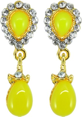 Suvini Color Spark Crystal Alloy Drop Earring