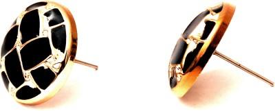 Fashionera Blacky spacky Metal Stud Earring