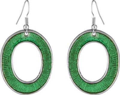 Craft Mandi Star Shape Metal Dangle Earring