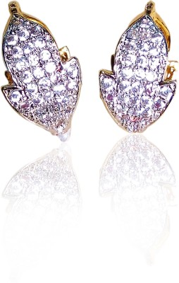 Chandrika Pearls contemporary Copper Clip-on Earring
