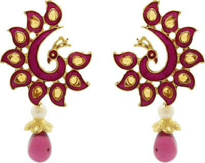 Ishaani Love Forever Copper Drop Earring