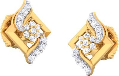 Kamal Jeweller Mamata Swarovski Crystal Sterling Silver Stud Earring