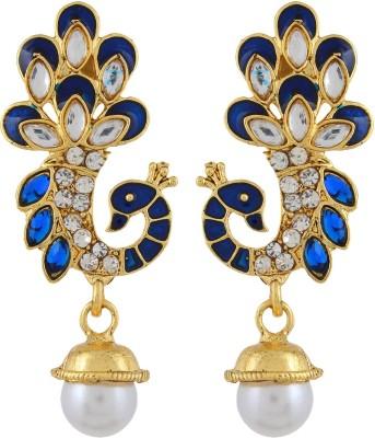 Veracious Jewellery AFC00002 Brass Drop Earring