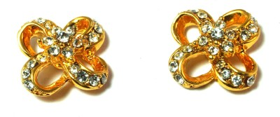 kanishq GOLD PLATED Alloy Plug Earring