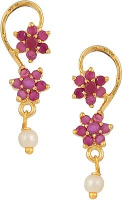 Archi Collection Colour Spark Cubic Zirconia Alloy Drop Earring