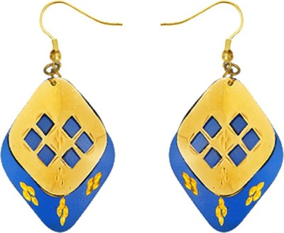 Kenway Retail Divine Pleasure Brass Dangle Earring