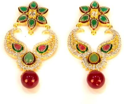 Amarsons Pearls E- Design Alloy Drop Earring