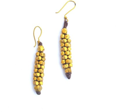 Art Godaam Dhokra Tribal 0004 Brass Dangle Earring