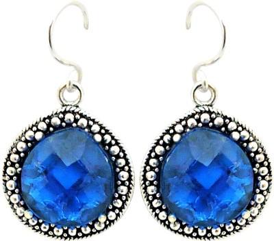 Cultural Fusion Ocean blue color Alloy Drop Earring