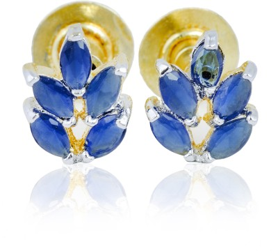 Tiara Gems Zircon Copper Stud Earring