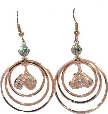 Anjalika American Diamond Copper Dangle Earring