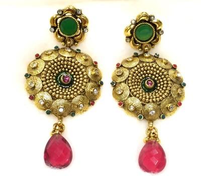 Paresh Trading Company PTC2 Pearl Bronze Chandbali Earring