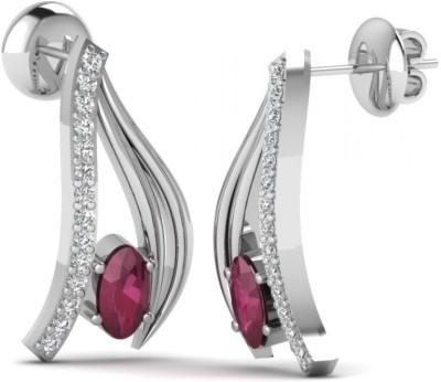 Joyra Striking Swarovski Zirconia Sterling Silver Stud Earring