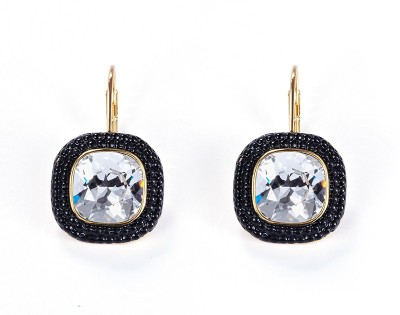 Nevi Designer Swarovski Crystal Metal, Crystal Drop Earring