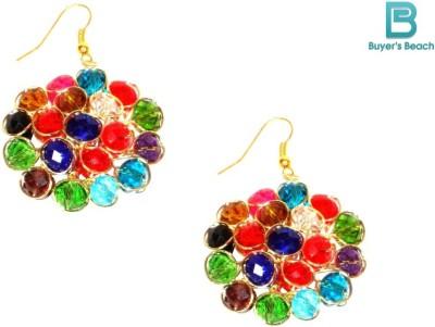 Buyer's Beach Colors of Holi Stone Dangle Earring