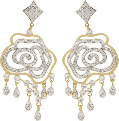 Fashionage Style Diva Alloy Drop Earring
