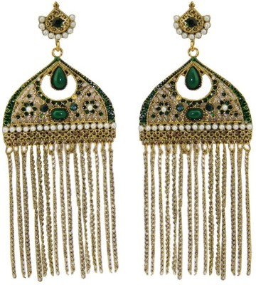 Sushito Long chains Alloy Tassel Earring