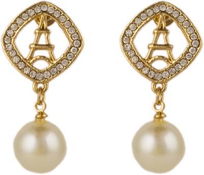 Anvi Jewellers Lucid Metal Drop Earring