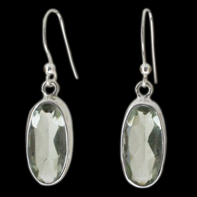 Aabhushan Aabhushajewels Crystal Sterling Silver Dangle Earring