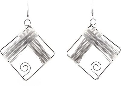 Avrom Silver Metal Brass, Copper Drop Earring
