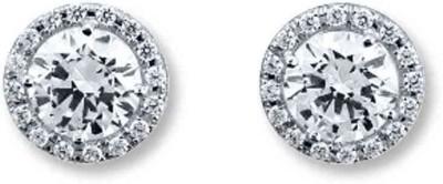 JDX Prestige Swarovski Crystal Silver Stud Earring