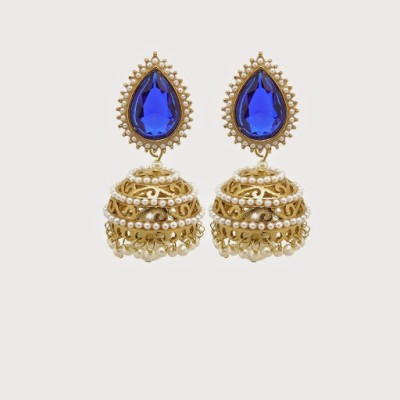 Angeli Georgeous Alloy Jhumki Earring