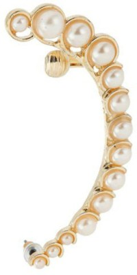 Young & Forever Elegant Pearl (Left Ear) Alloy Cuff Earring