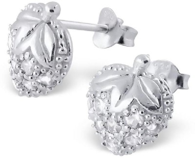 Maayin Strawberry Sterling Silver Stud Earring
