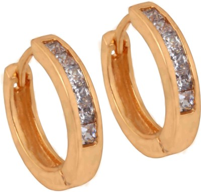 SuperShineJewelry Spring Sparkle White Zircon Brass Cuff Earring