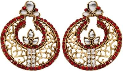 Rituals Desire Cubic Zirconia Alloy Chandbali Earring