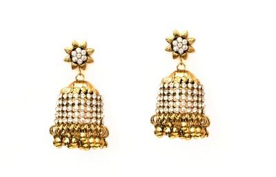 Fashionera Adorable shinny Metal Jhumki Earring