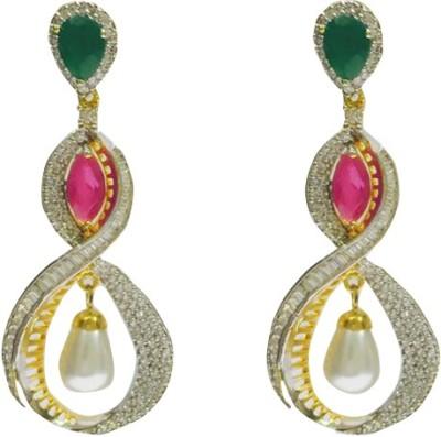 RK Style Stunning Brass Drop Earring