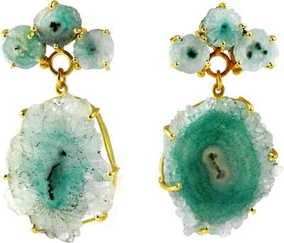 Miska Silver BERCB16-1001-4 Brass Drop Earring