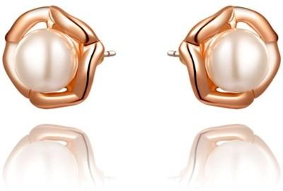 Kundaan Kundaan Cute Pearl Pearl Alloy Stud Earring