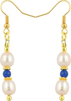 Pearlz Ocean Adventurous Pearl, Jade Alloy Dangle Earring