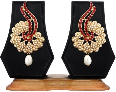 Zaveri Pearls Pearl Classic Zinc Drop Earring