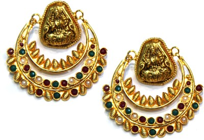 Amarsons Pearls Ram Leela Bali Alloy Chandbali Earring