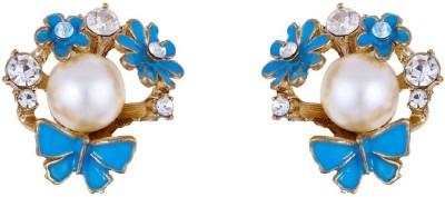 Jewlot Engaging 1041 Metal Stud Earring
