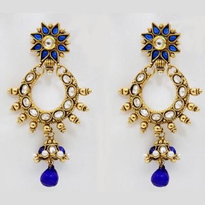 yash creations EAR06 Brass Jhumki Earring