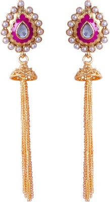 Jewels and Deals Fashion Earring by Jewels and Deals Brass Drop Earring