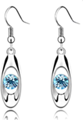 University Trendz UNIV_E029 Crystal Alloy Dangle Earring