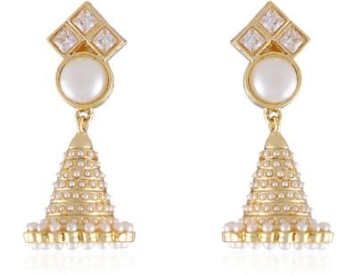 Vastradi Pretty Jhumkis Earring Brass Jhumki Earring