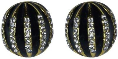 Bezel Sparkle Delight Alloy Stud Earring