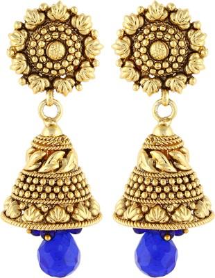 Aadi Creations Ethnic Charm Copper, Brass Jhumki Earring