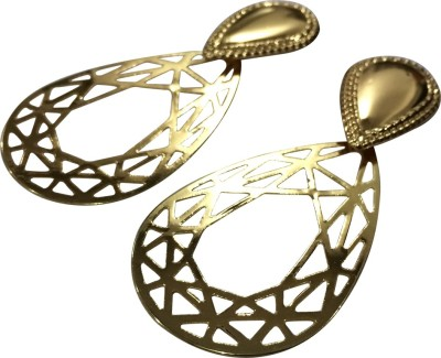 Gliteri Cutwork light Alloy Drop Earring