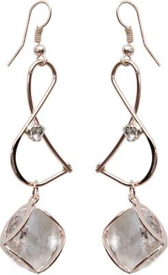 Grand Jewels New Stone Alloy Huggie Earring