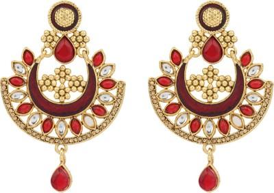 R18Jewels-Fashion&U Kundan Princess_Rajeshwari Metal Chandbali Earring