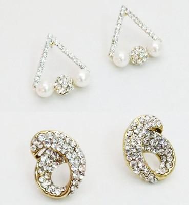 NEHASTORE Combo Offer CB05 Mother of Pearl Alloy Earring Set