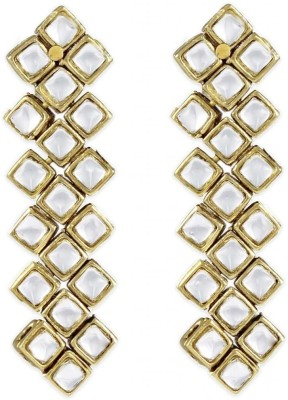 Karatcart Ethnic Kundan Alloy Drop Earring at flipkart