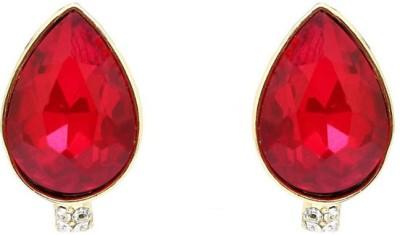 Saashis Closet Rose Gal Alloy Stud Earring
